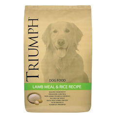 Click here to see Sunshine Mills 38007 Sunshine Mills 38007 Triumph Dog Food, Lamb Meal/Rice, 40 Lb