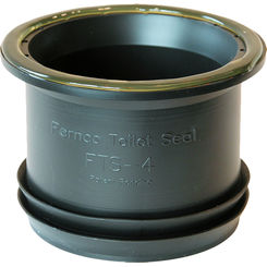 Click here to see Fernco FTS-4 FERNCO FTS-4 WAX FREE TOILET SEAL RING FOR 4