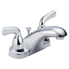 Click here to see Delta B2510LF Delta B2510LF Foundations Series Two Handle Centerset Lavatory Faucet (Chrome)