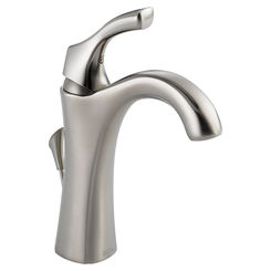 Click here to see Delta 592-SS-DST Delta 592-SS-DST Addison One Handle Lavatory Faucet - Stainless Finish