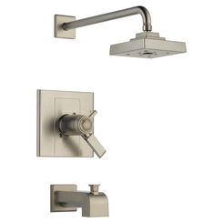 Click here to see Delta T17T486-SS Delta T17T486-SS Arzo TempAssure 17T Series Tub/Shower Trim - Stainless
