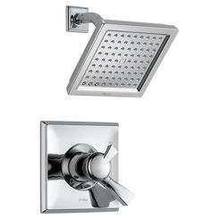 Click here to see Delta T17251-WE Delta T17251-WE Dryden Chrome Monitor Shower Trim Only