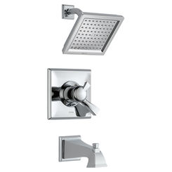 Click here to see Delta T17451-WE Delta T17451-WE Dryden Chrome Monitor Tub/Shower Trim