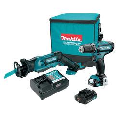 Click here to see Makita CT229R Makita CT229R 12V max CXT Lithium-Ion Cordless 2-Pc. Combo Kit (2.0Ah)