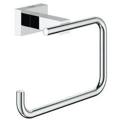 Click here to see Grohe 40507001 Grohe 40507001 Essentials Cube Toilet Paper Holder, Starlight Chrome