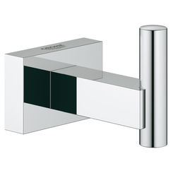 Click here to see Grohe 40511001 Grohe 40511001 Essentials Cube Robe Hook in StarLight Chrome
