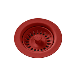 Click here to see Elkay LKQS35MA Elkay Polymer Drain Fitting with Removable Basket Strainer and Rubber Stopper Maraschino - LKQS35MA