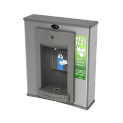 Click here to see Oasis PWEBF Oasis PWEBF VersaFiller Bottle Filler - Retro Fit, Hands Free, Gray