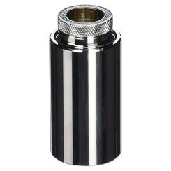 Click here to see Delta RP10802 Delta RP10802 Chrome Sleeve for Square Escutcheon-Replacement Part