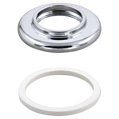 Click here to see Delta RP10965 Delta RP10965 Delta Base with Gasket - Handle (Chrome)