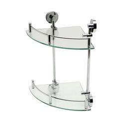 Click here to see Alfi AB9548 ALFI AB9548 Double-Glass Shower Shelf Bathroom Accessory