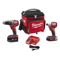 Click here to see   Milwaukee 2799-22CXPO M18 Compact Brushless Hammer Drill and Impact Driver Combo Kit