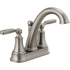 Click here to see Delta 2532LF-SSMPU Delta 2532LF-SSMPU Woodhurst Two-Handle Bathroom Faucet, Stainless