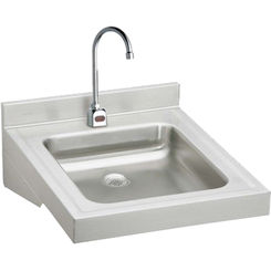 Click here to see Elkay WCL1923OSDSBMC Elkay WCL1923OSDSBMC  Wheelchair Lavatory Wall-Mounted Sink Package