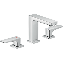 Click here to see Hansgrohe 32518001 Hansgrohe 32518001 Metropol 110 Widespread Faucet with Lever Handles, Chrome