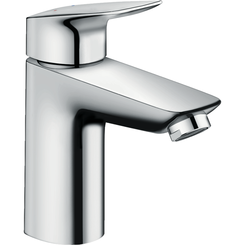 Click here to see Hansgrohe 71100001 Hansgrohe 71100001 Logis Single-Hole Faucet 100 with Pop-Up Drain, Chrome