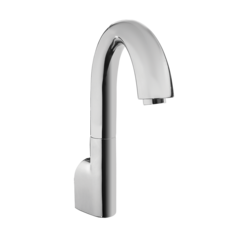 Click here to see Toto TEL163-D20ET#CP TOTO Gooseneck Wall-Mount ECOPOWER 0.35 GPM Electronic Touchless Sensor Bathroom Faucet with Thermostatic Mixing Valve, Polished Chrome - TEL163-D20ET#CP