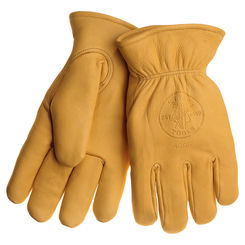 Click here to see Klein 40018 KLEIN 40018 COWHIDE GLOVES WITH THINSULATE XL