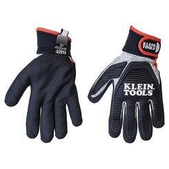 Click here to see Klein 40224 KLEIN 40224 JOURNEYMAN CUT 5 RESISTANT GLOVES, L