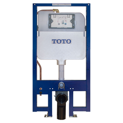 Click here to see Toto WT171M TOTO DuoFit In-Wall Tank System, 0.9 and 1.6 GPF, Copper Supply- WT171M