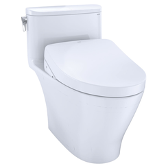 Click here to see Toto MW6423056CEFG#01 TOTO WASHLET+ Nexus One-Piece Elongated 1.28 GPF Toilet with S550e Bidet Seat, Cotton White - MW6423056CEFG#01