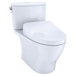 Click here to see Toto MW4423056CUFGA#01 TOTO WASHLET+ Nexus 1G Two-Piece Elongated 1.0 GPF Toilet with Auto Flush S550e Contemporary Bidet Seat, Cotton White - MW4423056CUFGA#01