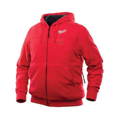 Click here to see Milwaukee 302R-203X Milwaukee 302R-203X ToughShell M12 Men's Heated Hoodie Only, Red, 3X Extra Large