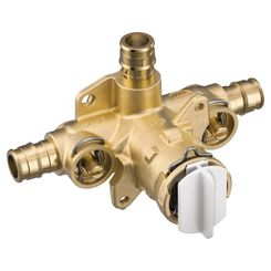 Click here to see Moen FP62328PF Moen FP62328PF Posi-Temp Tub/Shower Rough-In Valve - 3 Port Cold Expansion PEX  w/ Stops