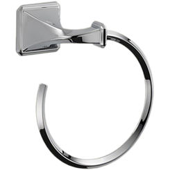 Click here to see Brizo 694630-PC Brizo 694630-PC Virage Polished Chrome Towel Ring