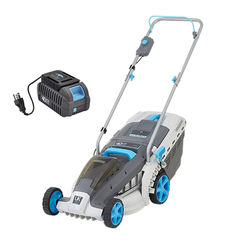 Click here to see Swift EB137CD Swift EB137CD2 Cordless 40V Wide Lawn Mower with Battery and Charger