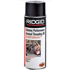 Click here to see Ridgid 22088 Ridgid 22088 16Oz. Aerosol Extreme Performance Plus Threading Oil