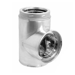 Click here to see M&G DuraVent 9475GA DuraVent 6DT-ST DuraTech 6-Inch Tee with Cap