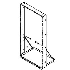 Click here to see Elkay MFWS100 Elkay MFWS100 Accessory Mounting Frame