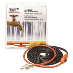 Click here to see Easyheat AHB-112A Easy Heat AHB Pipe Heating Cable With Thermostat, 1 in, 12 ft, 120 VAC, 0.7 A, 84 W