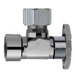 Click here to see Plumb Pak PP54PCLF Plumb Pak PP54PCLF 1/4 Turn Angle Shut-Off Valve, 1/2 X 7/16 X 1/2 in, FIP X OD X Slip Joint, Chrome Plated