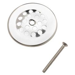 Click here to see Plumb Pak PP826-64 Plumb Pak PP826-64 Strainer Dome Cover With Screw, 3 in Dia, 1-1/2 in Screw Length, Chrome