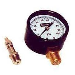 Click here to see Simmons 1305 Simmons 1305 Pressure Gauge, 0 - 100 lb, 2 in Dial, 1/4 in MPT, Steel