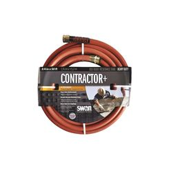 Click here to see Colorite SNCG34050 Swan Commercial Grade Heavy Duty Garden Hose, 3/4 in ID 50 ft L, Rubber/Vinyl, Gray