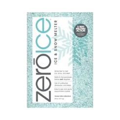 Click here to see Howard Johnson 9583 Zero Ice 9583 3-Way Ice Melter, 20 lb, Bag, White/Tinted Aqua, Granular Solid