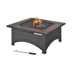 Click here to see Seasonal Trends FTB-51171 Mintcraft FTB-51171 Square Outdoor Firepit
