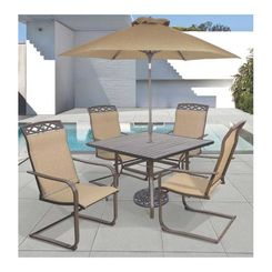 Click here to see Seasonal Trends T6S40UO3J33 T6S40UO3J33 Dining Table, 40 in W, Steel