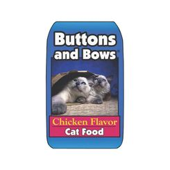 Click here to see Sunshine Mills 10224 Sunshine Mills 10224 Buttons and Bows Cat Food, 20 Lb