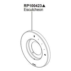Click here to see Brizo RP100423PC Brizo RP100423PC Levoir Pressure Balance Valve Trim Escutcheon - Chrome