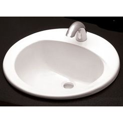 Click here to see Toto LT502.8#01 Toto LT502.8 Cotton White Self Rimming Lavatory 8