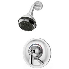 Click here to see Symmons S-4701-TRM Symmons S-4701-TRM Chrome Allura Series Shower System