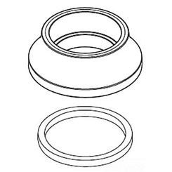 Click here to see Moen 116639ORB Moen 116639ORB Part Escutcheon Bar Single and Two Handle Handle Ring