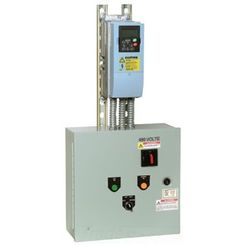 Click here to see Honeywell NXBJ0015CS30000000 Honeywell NXBJ0015CS30000000 15HP NXS VFD, 3 Contactor Cool Blue Bypass Variable Frequency Drive