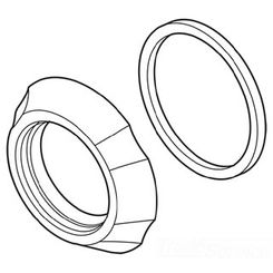 Click here to see Delta RP61826SS Delta RP61826SS Delta Flange - Spout Flange and Gasket (Stainless)