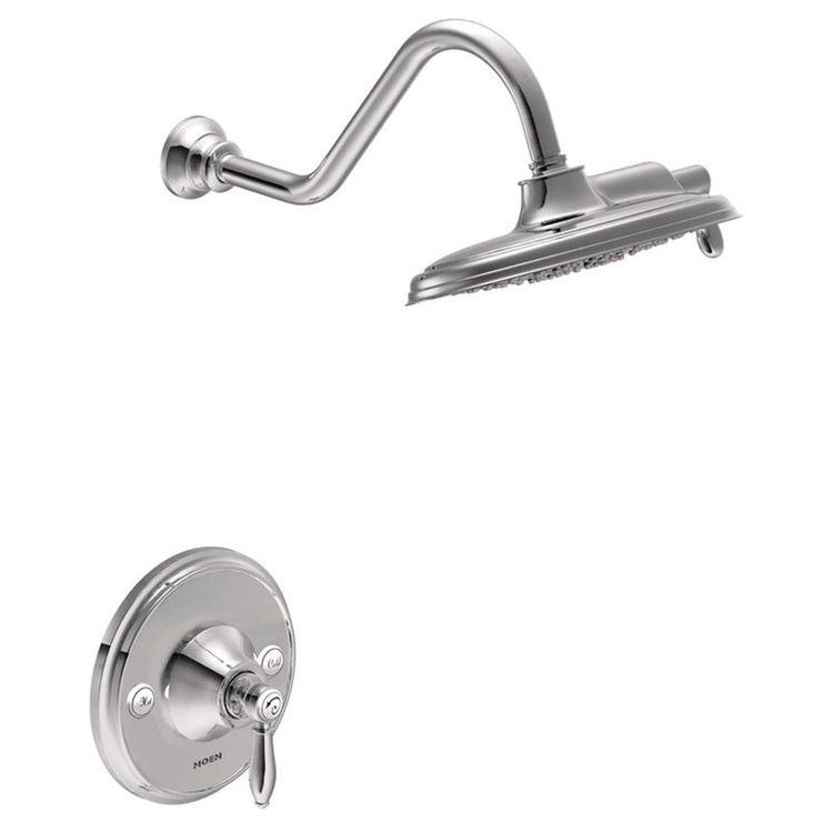 Moen TS32102 Moen TS32102  Weymouth Posi-Temp Shower Trim Only, Chrome