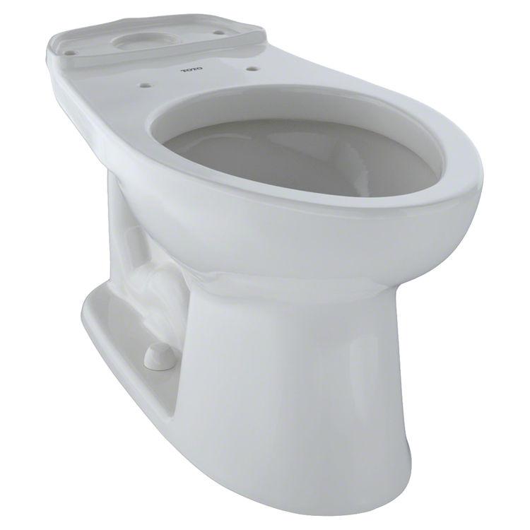 Toto C744E#11 TOTO  Eco Drake and Drake Elongated Toilet Bowl, Colonial White - C744E#11